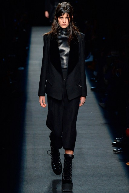 Alexander Wang New York fashion week f/w 2015-2016 Edoardo Alaimo1