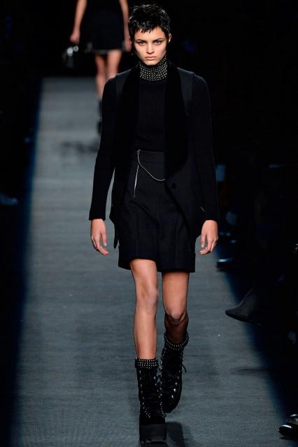 Alexander Wang New York fashion week f/w 2015-2016 Edoardo Alaimo2