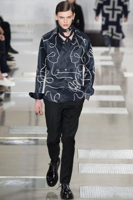 Louis Vuitton Fall winter 2016- 2017 Edoardo Alaimo6