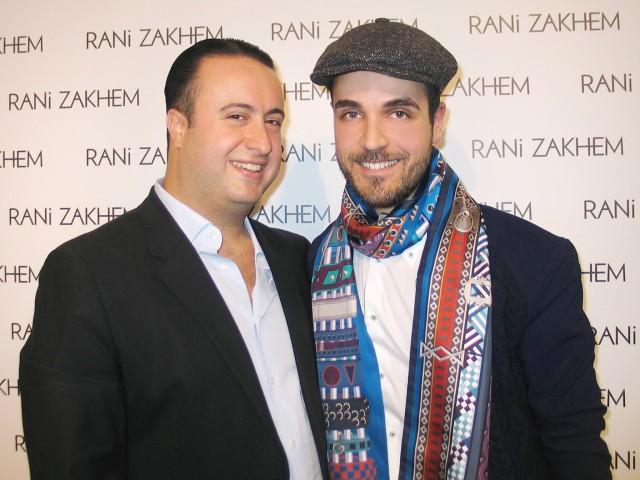 Rani Zakhem haute couture con Edoardo Alaimo