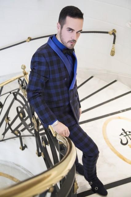 Edoardo Alaimo Eva 3000 abiti Carlo Pignatelli3