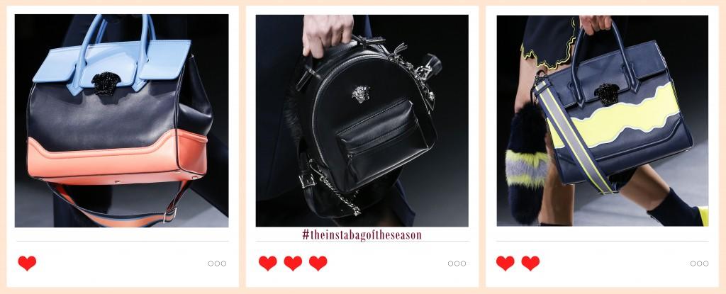 Versace borse Autunno inverno 2016-2017 Edoardo Alaimo