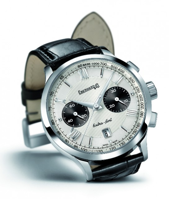 New Eberhard&co chronograph extra fort grand taille Edoardo Alaimo