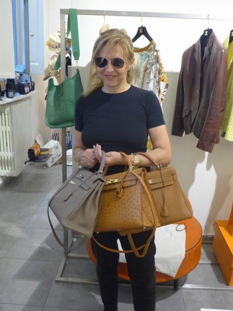 negozio vintage Hermès Milano Grazia Pitorri Edoardo Alaimo1