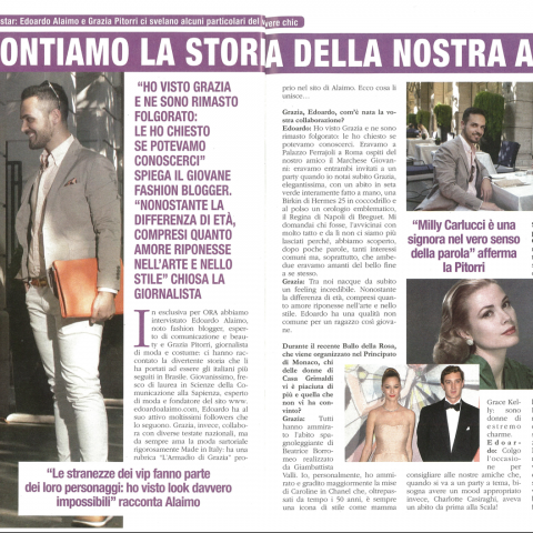 <!--:it-->Intervista settimanale ORA - 23 Aprile 2016<!--:-->