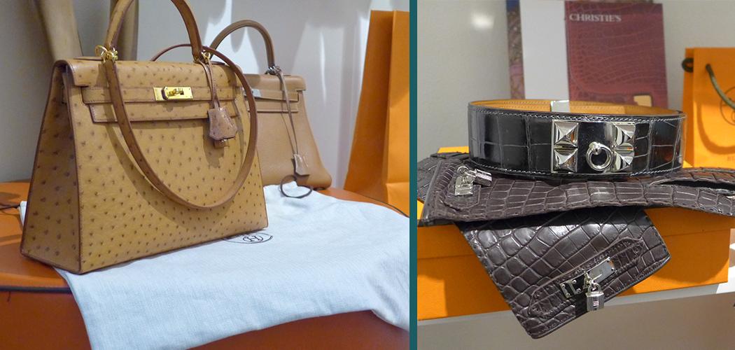 Hermès kelly bag in struzzo Edoardo Alaimo
