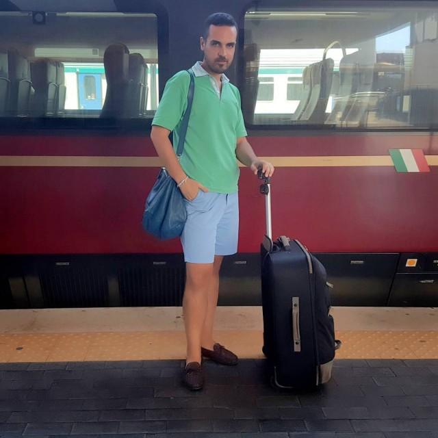 Appena arrivato a Napoli pronto per un nuovo viaggio dihellip