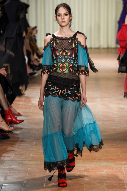 Milano fashion week P/E 2017 Alberta Ferretti2 Edoardo Alaimo