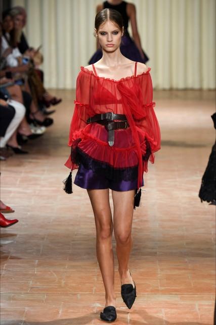 Milano fashion week P/E 2017 Alberta Ferretti5 Edoardo Alaimo