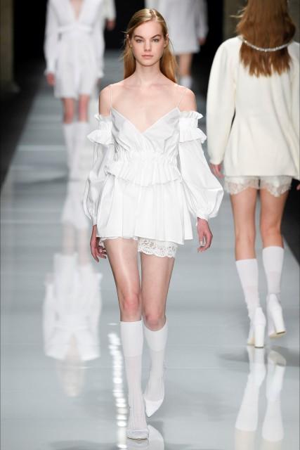 Milano fashion week P/E 2017 Francesco Scognamiglio5 Edoardo Alaimo