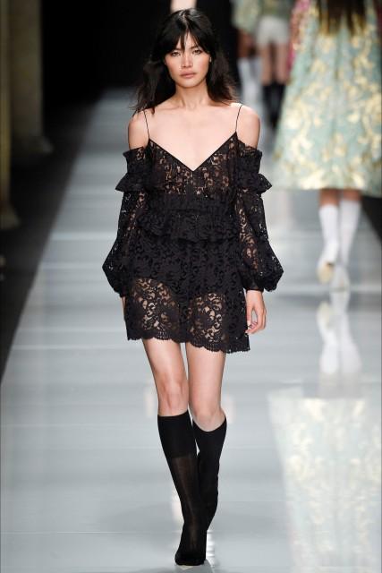 Milano fashion week P/E 2017 Francesco Scognamiglio6 Edoardo Alaimo