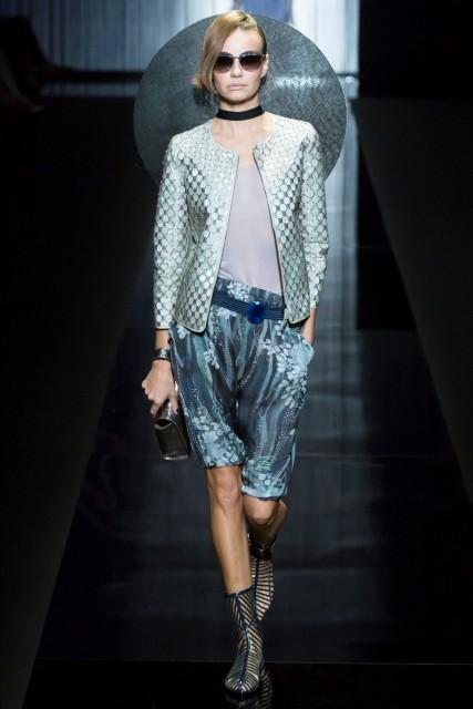 Milano fashion week P/E 2017 Giorgio Armani4 Edoardo Alaimo