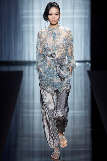 Milano fashion week P/E 2017 Giorgio Armani9 Edoardo Alaimo