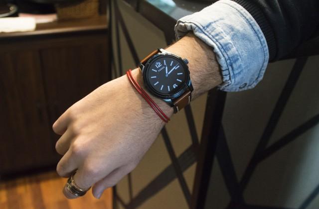 Edoardo Alaimo look Fossil watch8