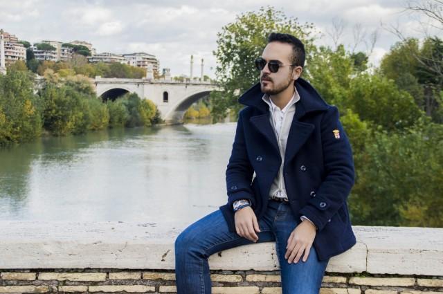 outfit Ponte Milvio Edoardo Alaimo2