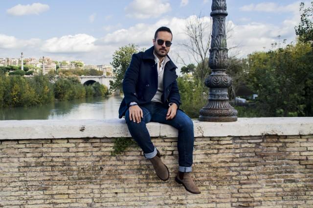outfit Ponte Milvio Edoardo Alaimo4