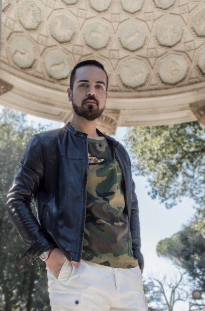 Edoardo ALaimo influencer outfit post Villa Borghese6