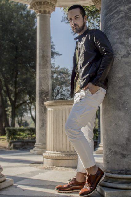 Edoardo ALaimo influencer outfit post Villa Borghese12