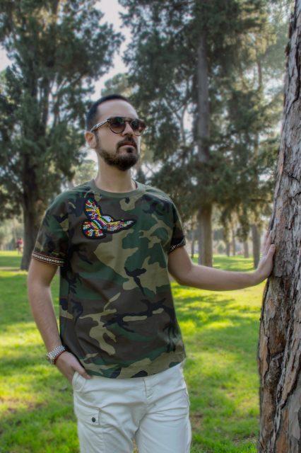 Edoardo ALaimo influencer outfit post Villa Borghese13