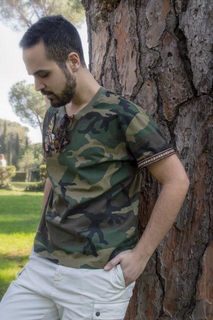 Edoardo ALaimo influencer outfit post Villa Borghese14