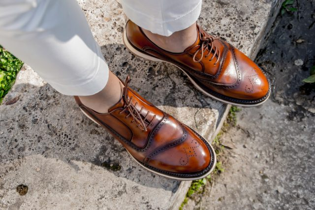 scarpe A.Testoni Edoardo Alaimo influencer3