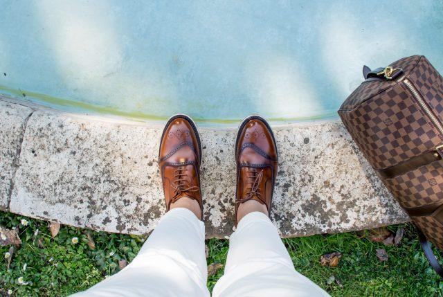 scarpe A.Testoni Edoardo Alaimo influencer2