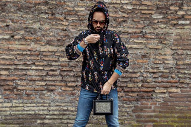 Edoardo Alaimo fashion blogger street style outfit Roma1