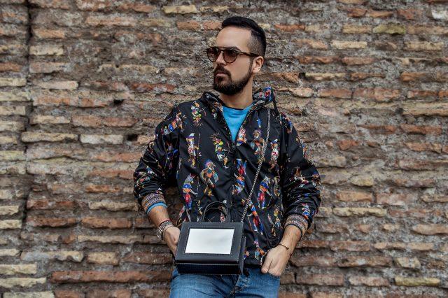 Edoardo Alaimo fashion blogger street style outfit Roma7