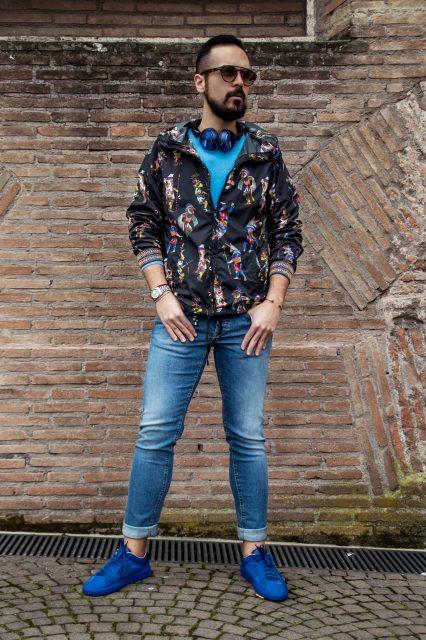 Edoardo Alaimo fashion blogger street style outfit Roma2