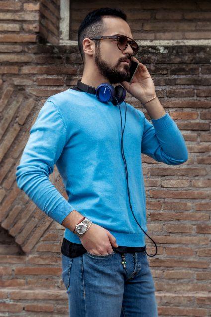 Edoardo Alaimo fashion blogger street style outfit Roma9