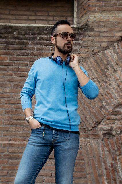 Edoardo Alaimo fashion blogger street style outfit Roma3