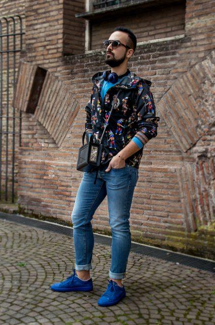 Edoardo Alaimo fashion blogger street style outfit Roma5
