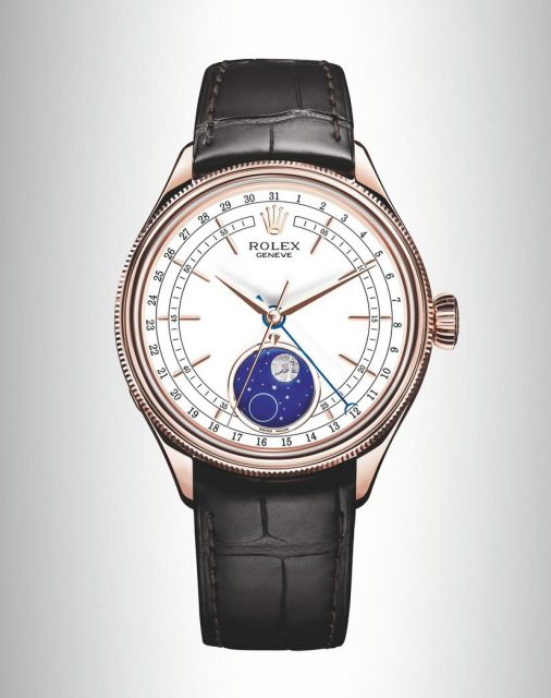 Baselworld 2017 new watch Rolex Cellini Moon phase