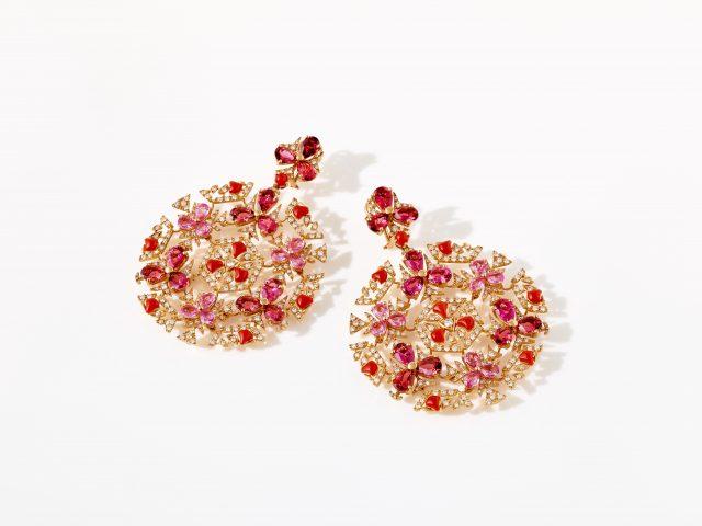 Chantecler gioielli Caleidoscopio earrings