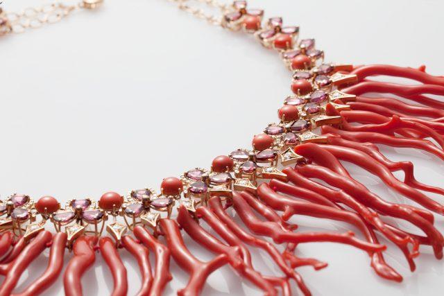 Chantecler gioielli Caleidoscopio high jewelry necklace