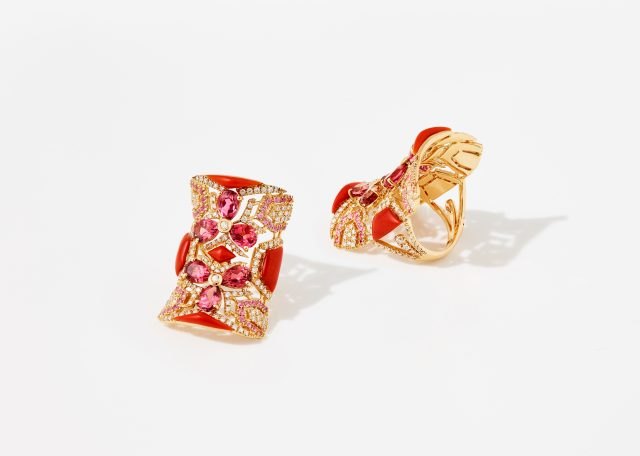 Chantecler gioielli Caleidoscopio ring