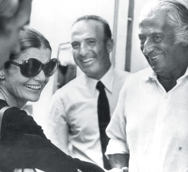 Chantecler gioielli - Salvatore Aprea e Pietro Capuano with Jacqueline Kennedy Onassis