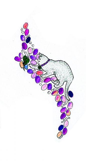 Chantecler high jewelry sketch