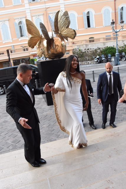 Montecarlo fashion week Naomi Campbell Edoardo Alaimo1