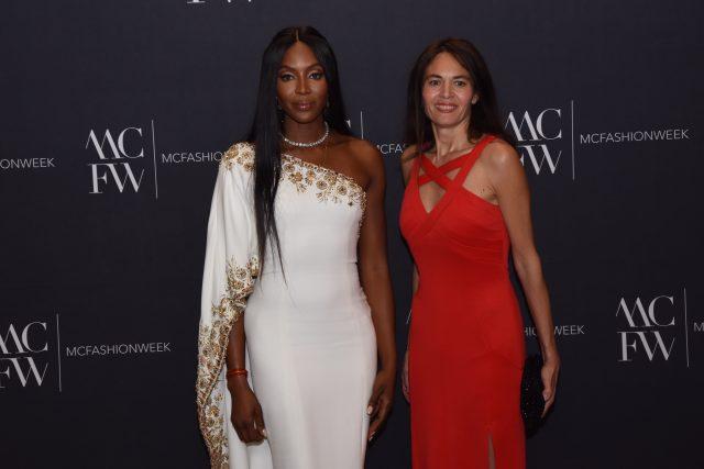 Montecarlo fashion week Naomi Campbell Edoardo Alaimo3