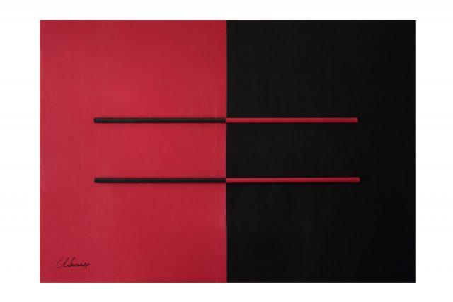 50 sfumature di arte - 50 sfumature di nero - Geometrie Freudiane n1 Letizia Lo Monaco artista
