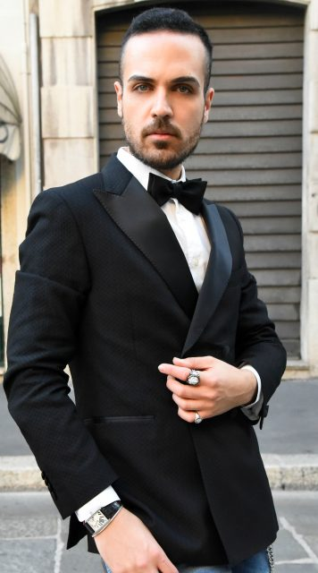 Edoardo Alaimo fashion blogger Carlo Pignatelli fashion show10
