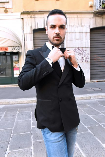 Edoardo Alaimo fashion blogger Carlo Pignatelli fashion show9