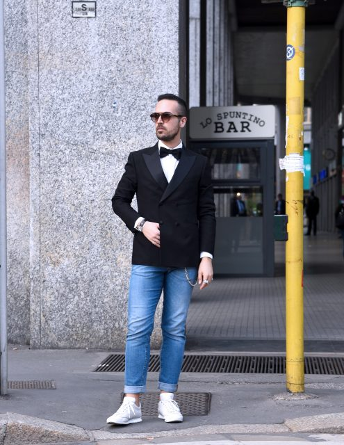 Edoardo Alaimo fashion blogger Carlo Pignatelli fashion show2