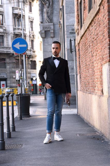 Edoardo Alaimo fashion blogger Carlo Pignatelli fashion show3
