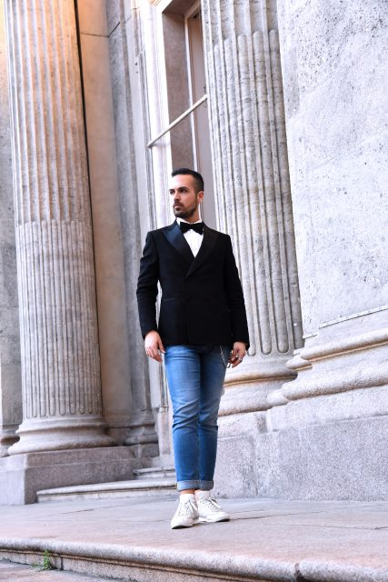 Edoardo Alaimo fashion blogger Carlo Pignatelli fashion show5