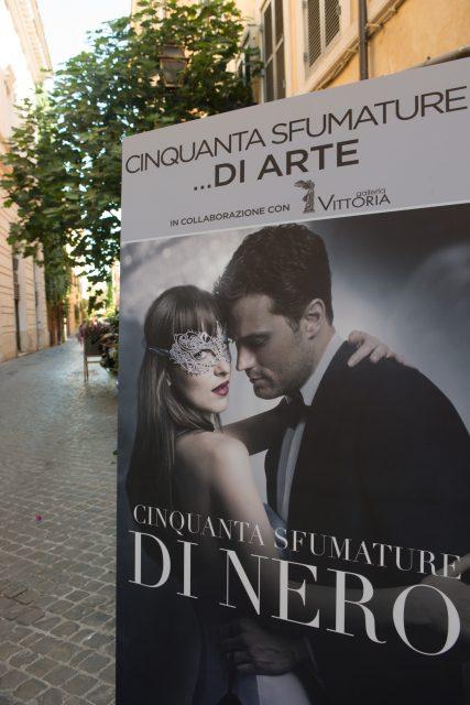 50 sfumature di arte - uscita dvd 50 sfumature di nero Roma Edoardo Alaimo1