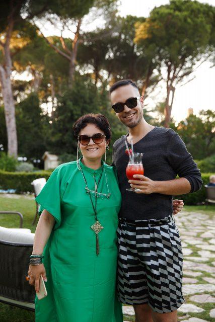 Letizia Lo Monaco artist - Edoardo Alaimo Waldorf Astoria Rome Cavalieri Hotels&resorts