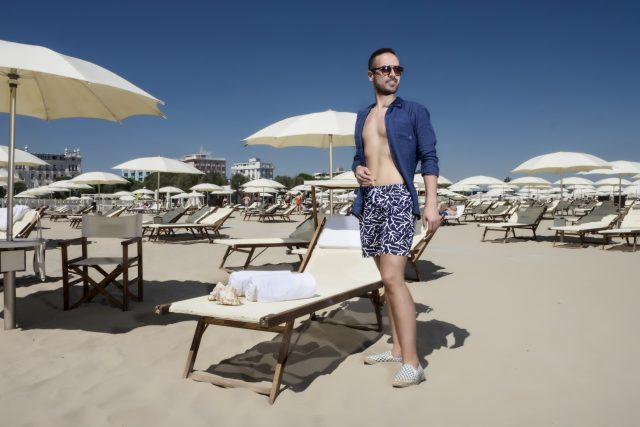 costumi da uomo - Edoardo Alaimo fashion influencer per Zalando3