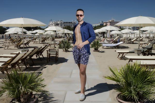 costumi da uomo - Edoardo Alaimo fashion influencer per Zalando4